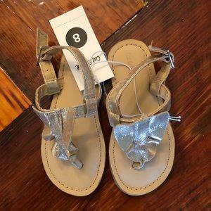 59db93f87323 Kids  Gold Sandals Target on Poshmark